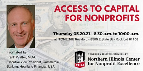 Access to Capital for Nonprofits: Planning for New Revenue Streams tickets