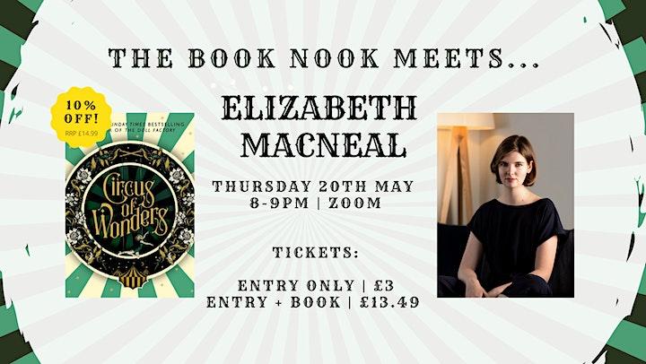 The Book Nook Meets : Elizabeth Macneal (Circus of image