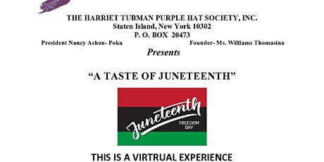 A Taste of Juneteenth tickets