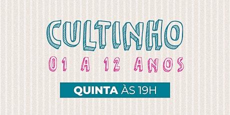 Cultinho Presencial QUINTA  - Bola de Neve Campinas tickets