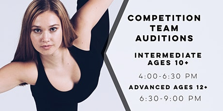 2021-2022 Competition Team Audition tickets