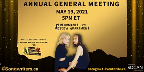S.A.C. Annual General Meeting 2021 tickets