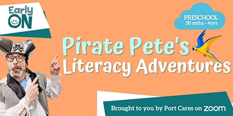 Preschool Pirate Pete's Literacy Adventures - Letter of the Day:  C tickets