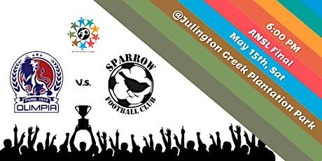Sparrow FC vs Olympia Jax FC : ANSL tickets