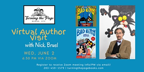 Virtual Author Visit with Nick Bruel! tickets