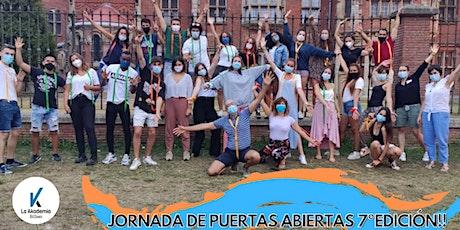JORNADA DE PUERTAS ABIERTAS 7º EDICIÓN LAKADEMIA EN BILBAO 2021-2022 entradas