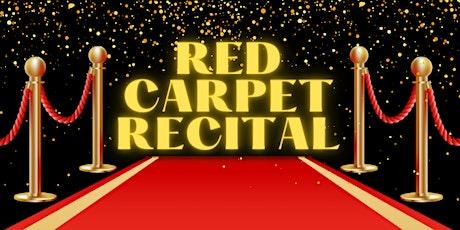 ADS Red Carpet Recital ingressos