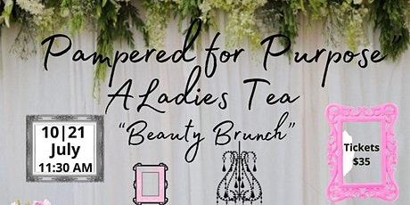 Pampered for Purpose Ladies Tea tickets