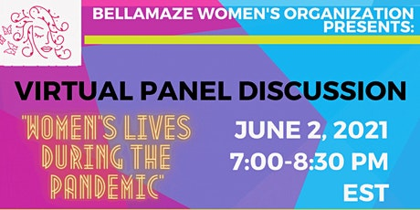 "Virtual Panel Discussion: ""Women's Lives During the Pandemic"" boletos"