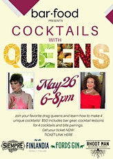 Cocktails with the Queens tickets