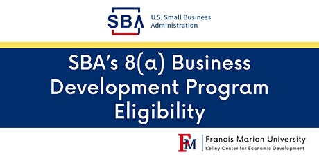 SBA's 8(a) Business Development Program Eligibility tickets