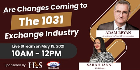 Are Changes Coming To The 1031 Exchange Industry? tickets