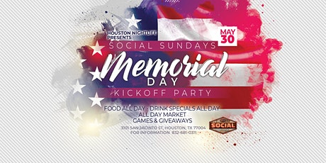 Memorial Day  Summer Kickoff Party tickets