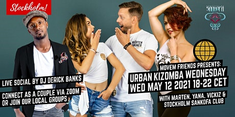 Movem Friends Urban Kizomba Wednesdays - Online & Local groups biljetter