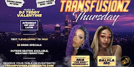 Transfusionz Thursday tickets