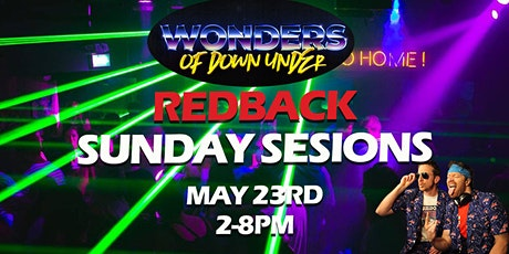 WONDERS - Redback Sunday Session May 23rd tickets