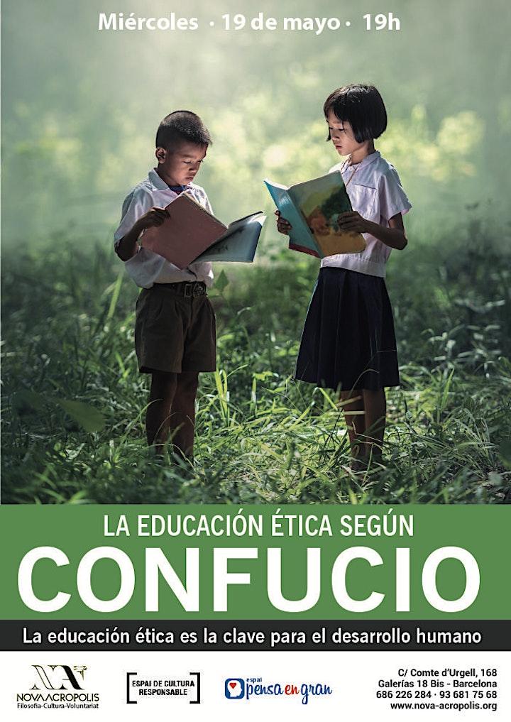 Imagen de Espacio de diálogo: «La educación ética según Confucio»