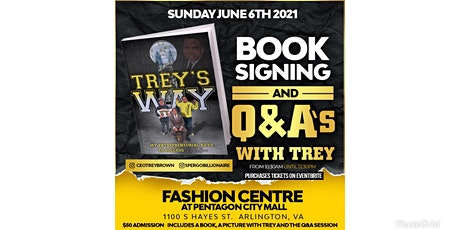 Q & A With Trey and Book Signing! tickets