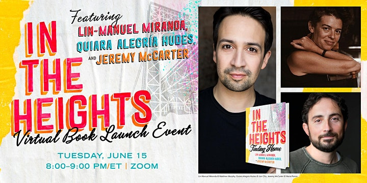 In the Heights Virtual Book Launch image