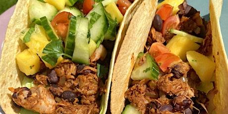 Jerk Jackfruit Tacos - Plant Based Cooking Classes tickets