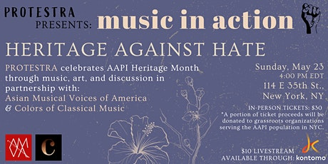 PROTESTRA'S Music in Action: Heritage Against Hate tickets