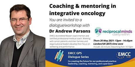 Dr Andrew Parsons: Coaching & mentoring in integrative oncology tickets