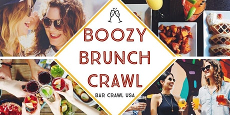 The 3rd Annual Boozy Brunch Crawl: Greenville tickets