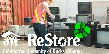 Free TV & Electronic Recycling tickets