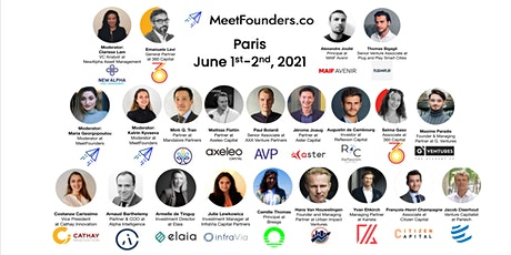 MeetFounders PARIS [June 2021] Venture Capital Conference tickets