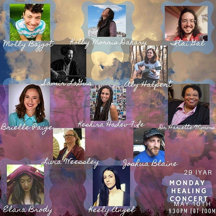 Monday Healing Concerts for the Month of Iyar image