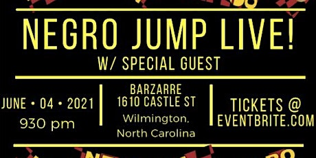 Negro Jump Live! (Comedy Show) tickets