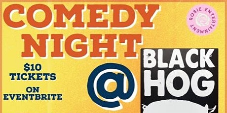 Comedy Night at Black Hog Brewery tickets