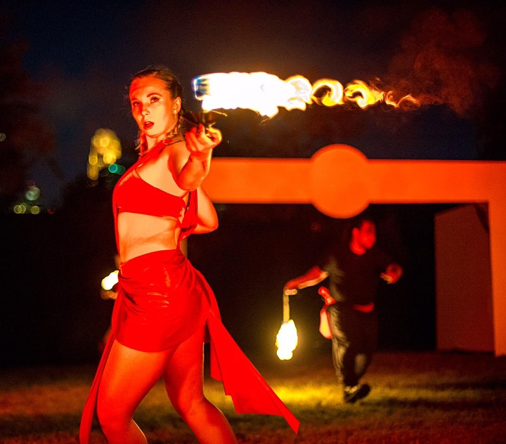 EURYDICE: In-Person Outdoor Production Forged in Music, Dance, Film &  Fire image
