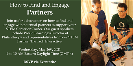 Global STEM Network: Finding and Engaging Partners tickets
