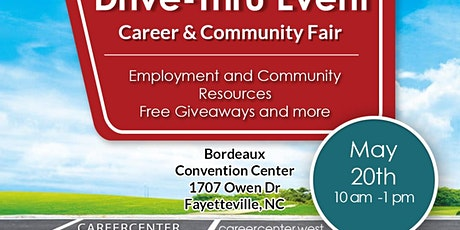 Free Drive- Thru Career Fair!  Fayetteville,  NC tickets