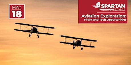 Spartan College - Aviation Exploration 05-18-21 tickets