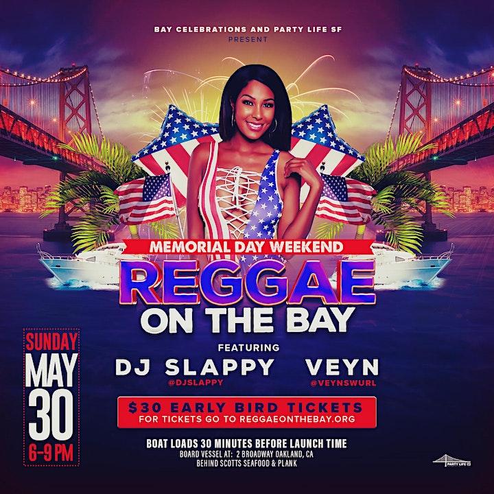 Reggae on the Bay Memorial Weekend Sunset Cruise image
