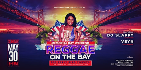 Reggae on the Bay Memorial Weekend Sunset Cruise tickets
