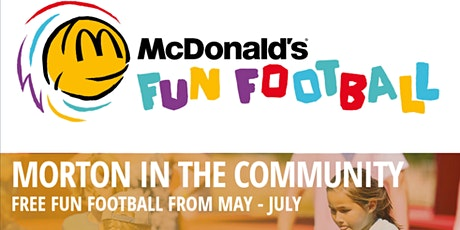 Morton in the Community - McDonald's Fun Football tickets