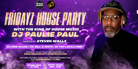 Fridayz House Party tickets