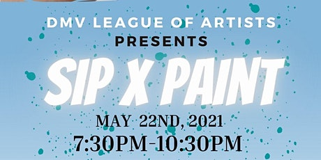 Spring Sip & Paint tickets