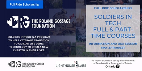 Soldiers in Tech Online Information Session tickets