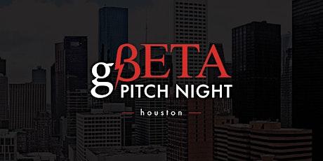 VIRTUAL: gBETA Houston Pitch Night tickets