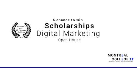 Digital Marketing - Get a scholarship in June tickets