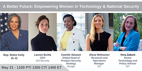 A Better Future: Empowering Women in Technology and National Security tickets