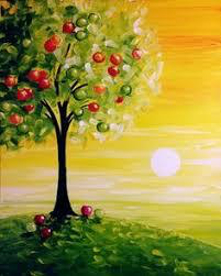 Paint Night Every Wednesday 8pm Different Painting Every Week! image