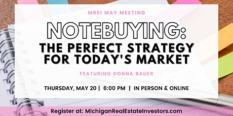 MREI May Monthly Meeting tickets