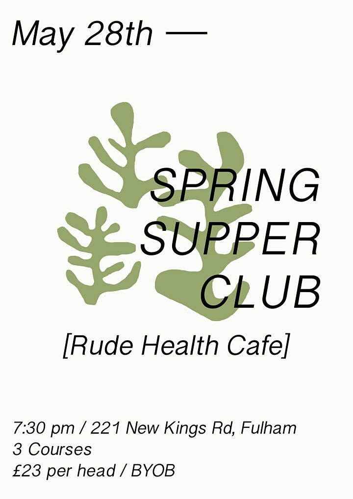 Spring Supper Club image