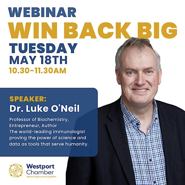 Win Back BIG - Westport Chamber Business Webinar image