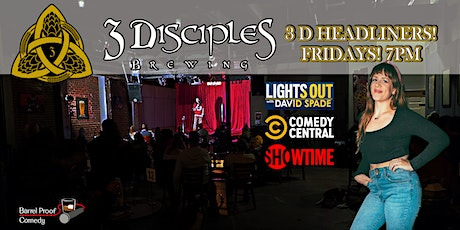 3D Headliners - Funny Fridays With Lara Beitz! tickets